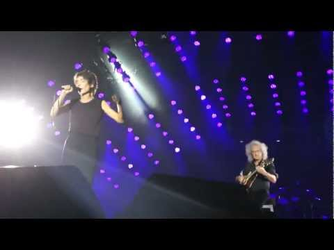 Queen - Brian May and Zemfira - Life is Real (live in Moscow), 03.07.12