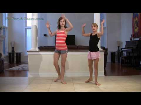 How To Do Steps To Hoedown Throwdown Dance Hannah Montana - Miley Cyrus video