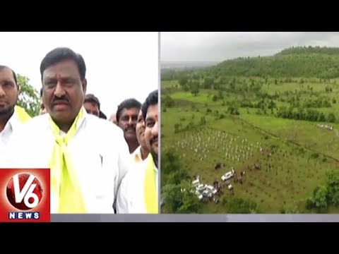 MLA Sanjeeva Rao Participates In KTR Birthday Celebration In Vikarabad | V6 News