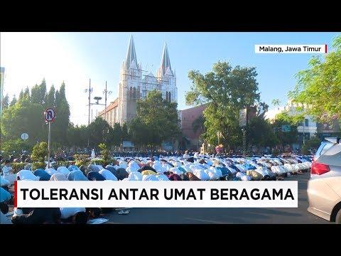 Di Saat Bule Perancis Takjub Dengan Toleransi Keagamaan di Indonesia - Idul Fitri 2017