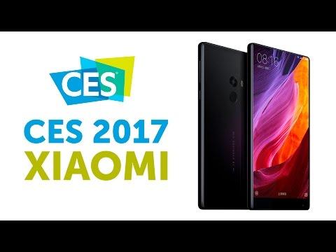 Xiaomi Mi TV 4 и Mi Mix на CES 2017