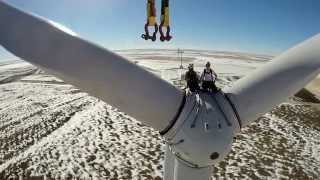 Northwest Crane Service, L.L.C. Liebherr LTM 1750-9.1 Kansas Wind Turbine Project