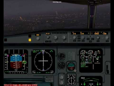 stormy weather over Orly (LFPO).wmv