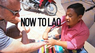 Vientiane Laos: Walking the streets and markets of Vientiane - Best iced Lao Coffee - Now to Lao