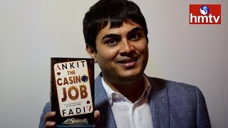 Ankit Fadia Ethical Hacker | Launches Hacking Book THE CASINO JOB | hmtv