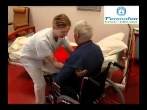 Planche de transfert teamalex medical du lit au fauteuil roulant youtube - Lit fauteuil 1 personne ...