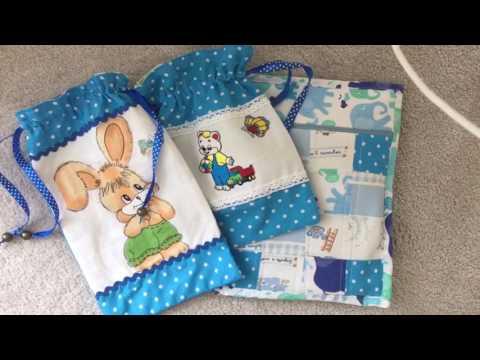 Текстильные мешочки для мелочей.. Текстильный конверт. Новый процесс