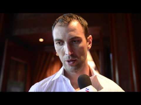 Interview With Zdeno Chara at the 2012 NHL Awards