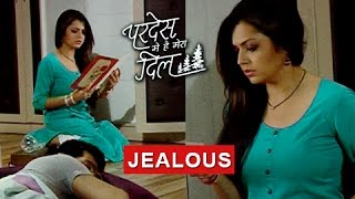 Naina LOVES Raghav JEALOUS Of Sanjana  Pardes Mein Hai Mera Dil