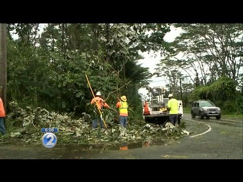 East Hawaii suffers major damage, outages from Iselle