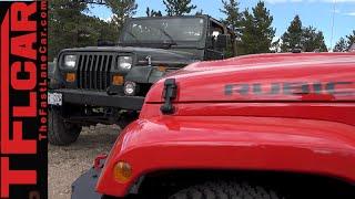 2015 Jeep Wrangler JK vs 1995 YJ Muddy Off-Road Challenge Preview