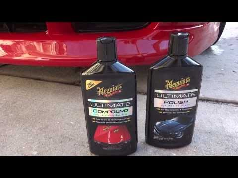 Results from Meguiars Ultimate Compound, Polish, and Tech Wax 2.0! WOW