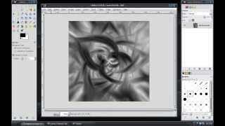 Gimp Tutorial: Abstract Spiral Effect