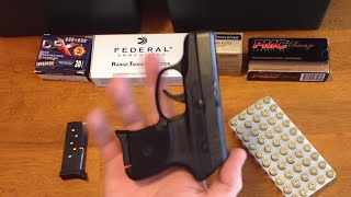 Ruger LCP 380 Pistol Review and Ammo Guide