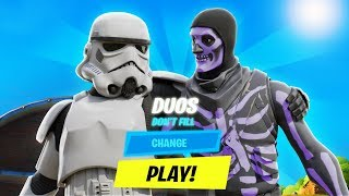I GIFTED my RANDOM DUOS the STORM TROOPER... (star wars)