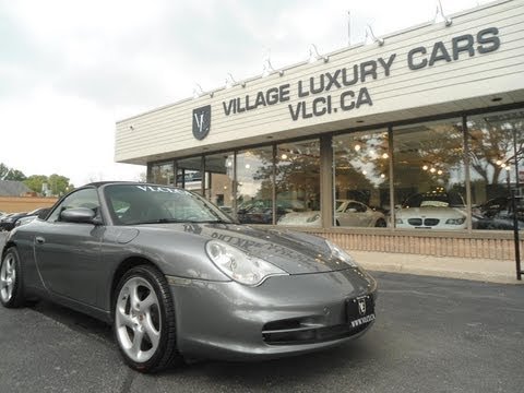 2002 Porsche Carrera 4 Cabriolet in review - Village Luxury Cars Toronto