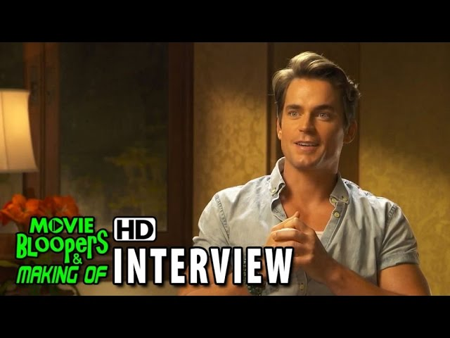 Magic Mike XXL (2015) Behind the Scenes Movie Interview - Matt Bomer is 'Ken'
