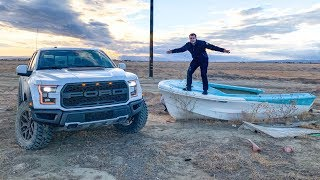 WE BROKE THE FORD RAPTOR?! *HUGE JUMP FAIL*