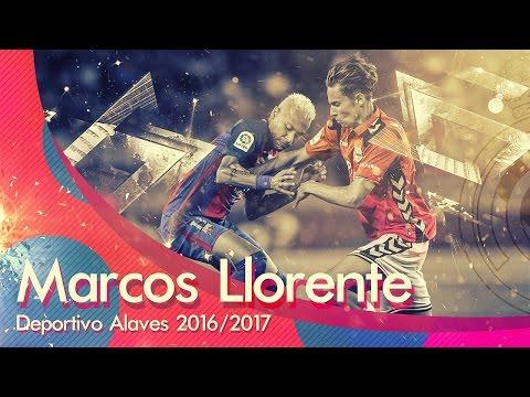 Marcos Llorente ● Deportivo Alavés 2016/17