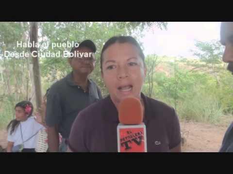 EL PETROLERO TV Habla El Pueblo Ciudad Bolivar 1