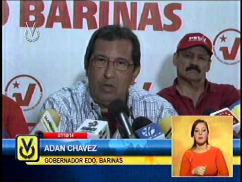 Gobernador Adan Chávez repudia asesinato de Serra y pide fortalecer partido del Psuv