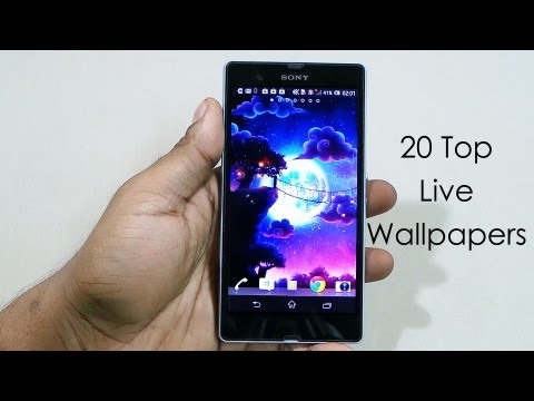 20 Best Live Wallpapers (free) For Android (xperia Z) - 2013 - Android Tips #7 - Cursed4eva video