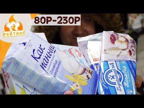 Рейтинг: Мороженое (Пломбир)