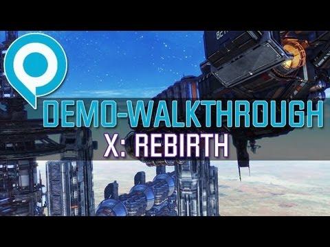 X: Rebirth - Walkthrough zur gamescom-Demo mit Kommentar von Bernd Lehahn