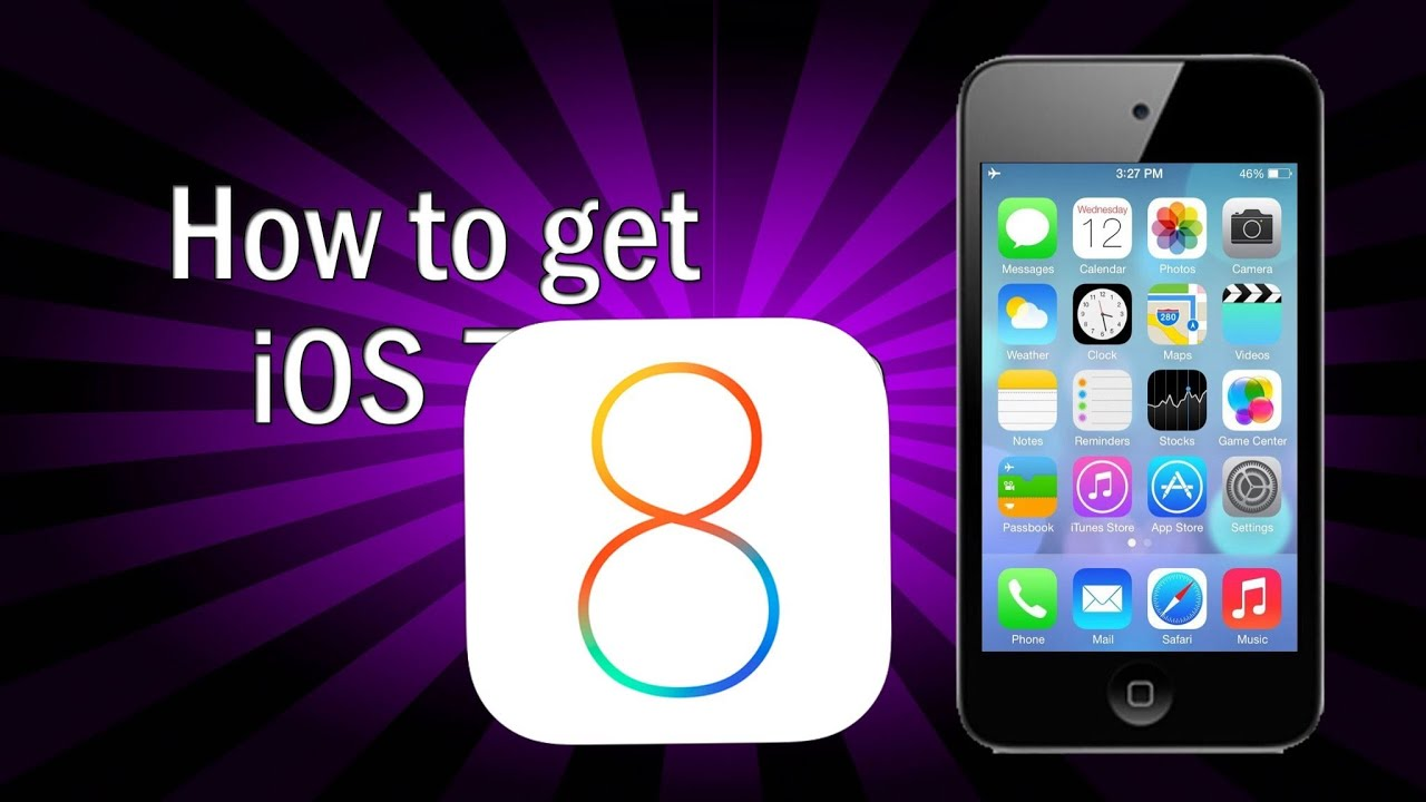 Ipod Ios 8 Get Ios 8 on Ipod Touch 4g