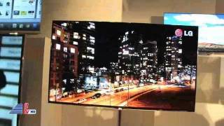 LG 55-inch 3D OLED TV & LG Spectrum at 2012 CES