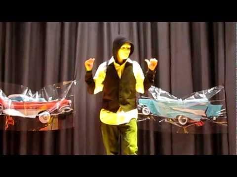 Winton Middle School Talent Show 2013 - Demetrio & Eduardo  - Cinema & Intentalo - 15 Part 1