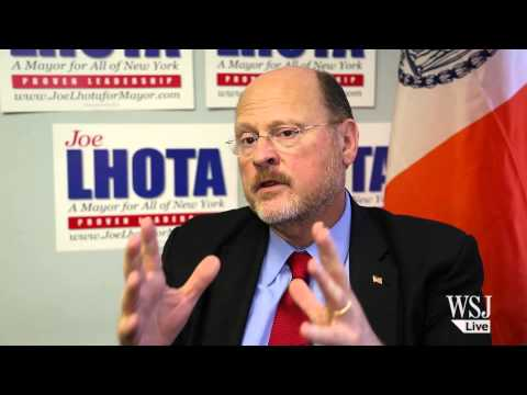 Interview With NYC Mayoral Candidate Joe Lhota
