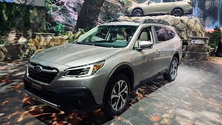 2020 SUBARU OUTBACK | NEW RE-DESIGN | Features and interiors | New York International Autoshow 2019