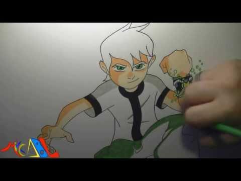 Dibujando a: Ben 10