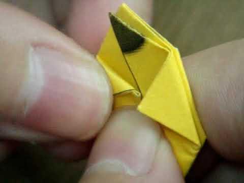 How to make Origami easy PikaChu - Cách xếp PikaChu bằng giấy thật dễ dàng !