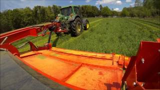 Nouvelle faucheuse Kuhn FC 3160 TLD [GoPro]