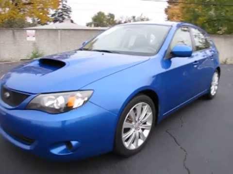 Salvage title auto appraisal inspection,Detroit Mi. salt flood 2008 Subaru LOC Federal Credit Union