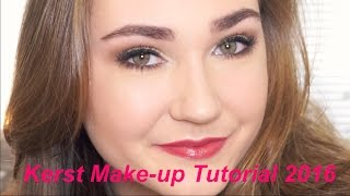 Kerst Make-up Tutorial 2016 | Sterre van der Gouw