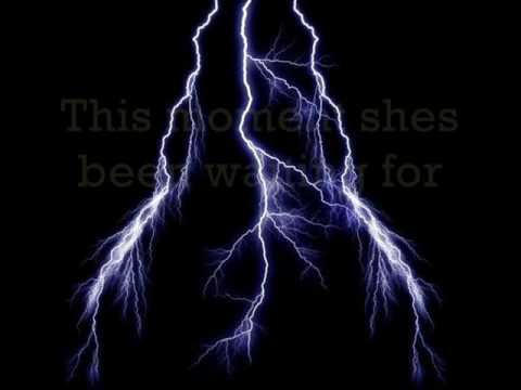 Live - Lightning Crashes (with lyrics)