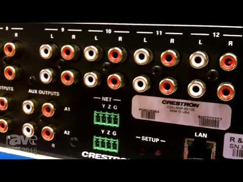 ISE 2015: Crestron Introduces C2N Amplifier with 50 Watts Per Channel