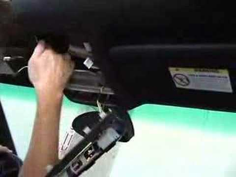 Bmw E39 Installation Of Bluetooth Microphone Youtube