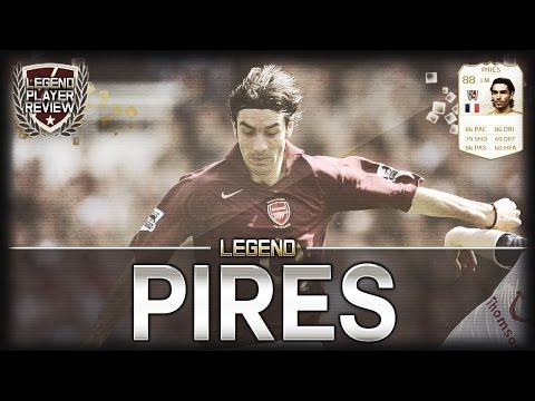 FIFA 14 UT - Legend Pires || Ultimate Team Legend 88 Player Review + In Game Stats