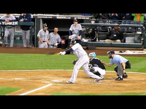 Felix Hernandez Hits the First Single By a Pitcher In Safeco Field History LIVE HD