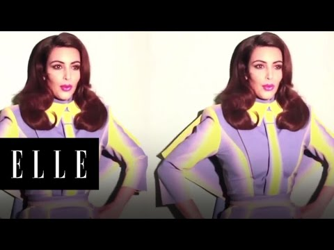 Kim Kardashian and Nicola Formichetti - ELLE
