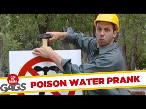 Toxic Water Prank - Mérgezett víz