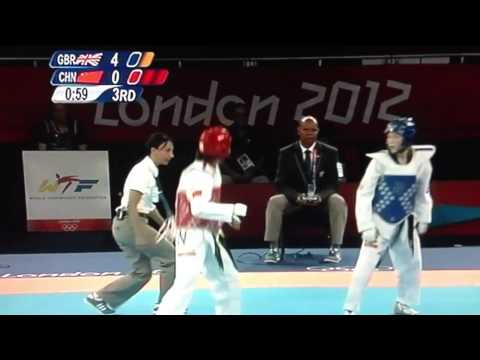 OLYMPICS 2012 TAEKWONDO JADE JONES FINAL HIGHLIGHTS