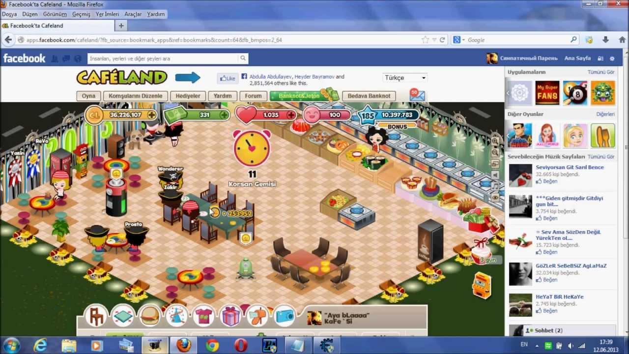 FaceBooK CaFeLanD Para...