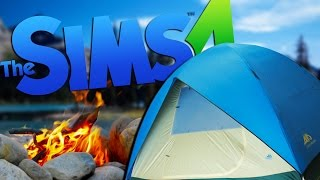OUTDOOR CAMPING ADVENTURES   The Sims 4 - Part 21