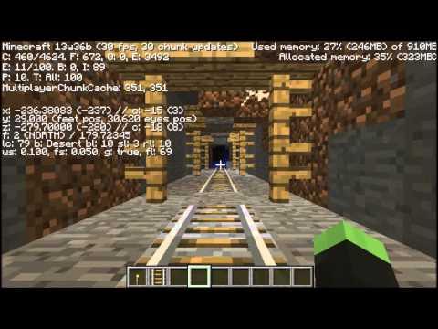 BEST Minecraft 1.7/1.8 Seed: Mesa. Village. Mineshaft! (MVM)
