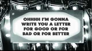 Clairy Browne & the Bangin Rackettes - Love Letter Lyrics